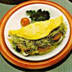 Delicious Sprout Omelet