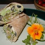 California Mediterranean Wrap