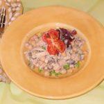 Mediterranean Garbanzo Sprout Salad